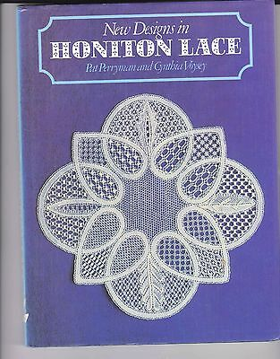 New Designs In Honiton  Lace Making Book