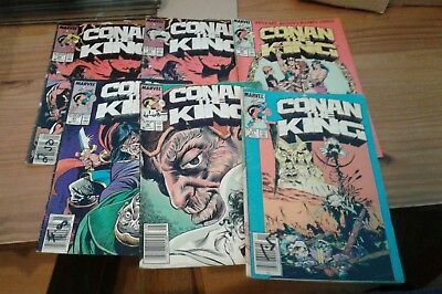 Conan the king comic bundle,1985.Includes issue 50.