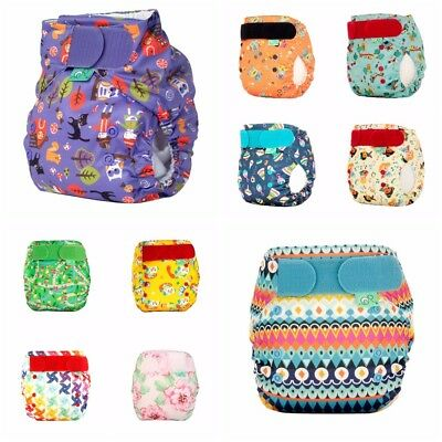 Tots Bots Easyfit Star Reusable Washable Nappy One Size 8-35lb All In One Bamboo