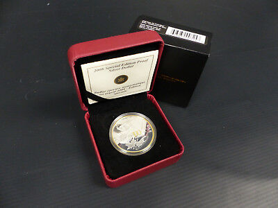 2008 Canada Sterling Silver Dollar Coin