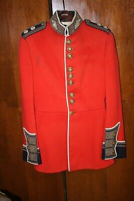 Scots Guards Officer's Tunic Vr Wwi British England Uk Britain Uniform Vintage