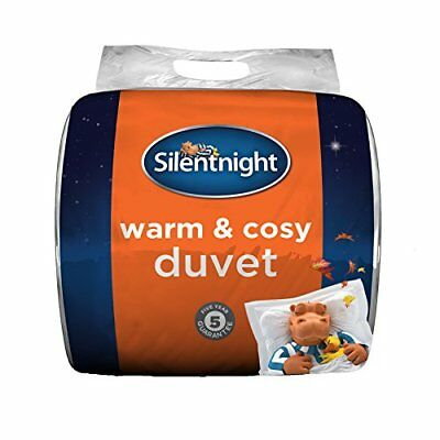 Warm And Cosy 15 Tog, White, 445726ge Double White By Silentnight