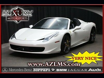 Other  2015 Ferrari 458 Spider 7 Speed Manual 2-Door Convertible