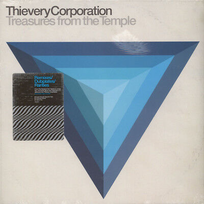 Thievery Corporation - Treasures From The Tem (Vinyl 2LP - 2018 - US - Original)
