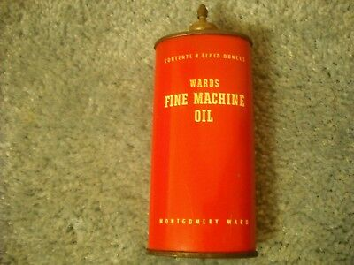 Wards Lead Top Handy Oil Can Very Nice Cond Selling More Oiler Gun Tins Etc