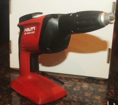 """HILTI SD 4500-A22 1/4"""" Hex Cordless Compact Hi-Speed Drywall Screwdriver New"""