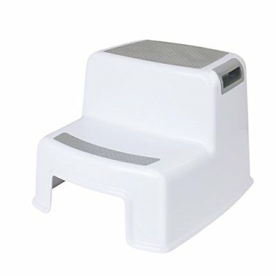 Dual Height Two Step Stool For Kids, Toddler s Stool For Potty Training And Baby