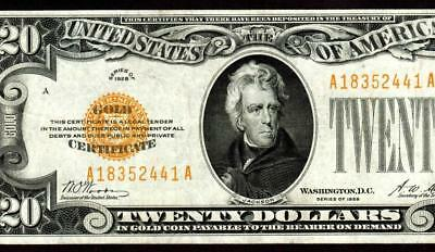 $20 1928 Gold Certificate  ** MORE CURRENCY FOR SALE **