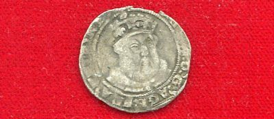 Henry Viii Silver Groat Posthumous Coinage 1547-1551 Decent Example