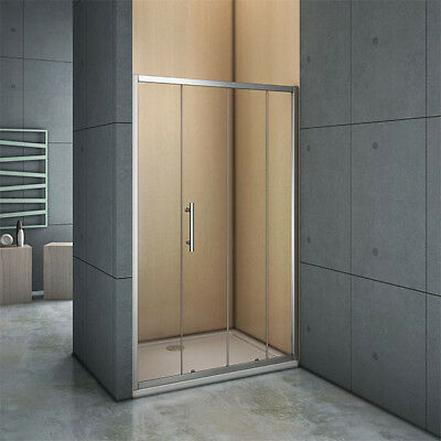 1400x1850mm NANO Self Clean Glass Screen Shower Enclosure Sliding Door Cubicle