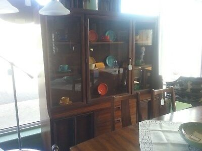Mid Century Modern China Cabinet - LOCAL PICK UP ONLY