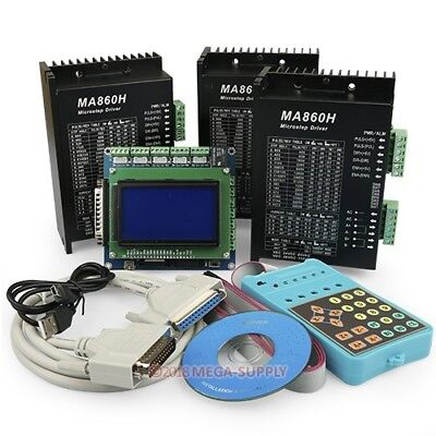 PROFESSIONELL 3 Achse Steuerung Display Bedienfeld MA860H Endstufe ...