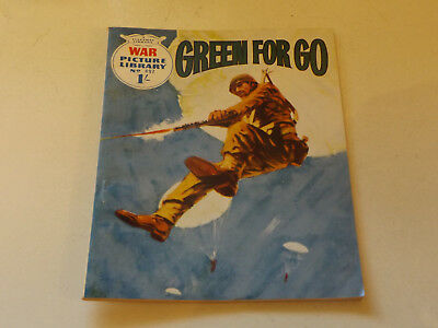WAR PICTURE LIBRARY NO 497!,dated 1969!,V GOOD for age,great 49!YEAR OLD issue.