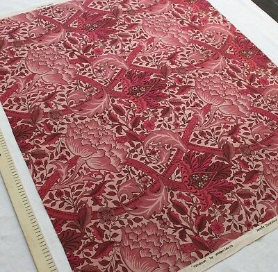 Vintage 'WINDRUSH' by William Morris, Textile length....