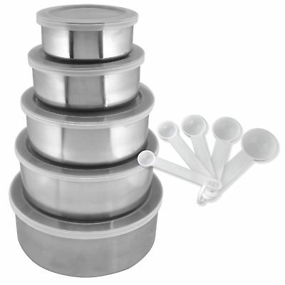 15 Piece Stainless Steel Kitchen Bowl Set
