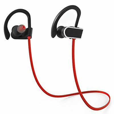 Bluetooth Headphones, Landnics IPX7 WaterProof V4.1 Wireless Earphones, 8 .