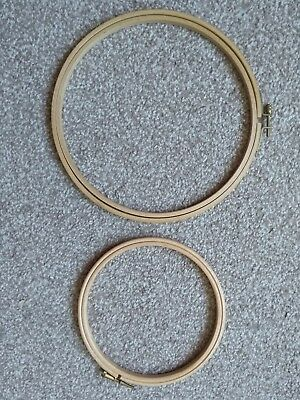 Hoops-Rings For Cross Stitch/tapestry/embroidery   X 2