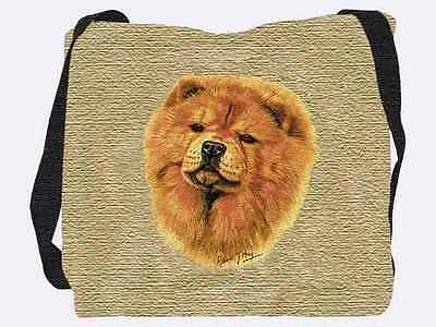 Woven Tote Bag - Chow Chow 1165