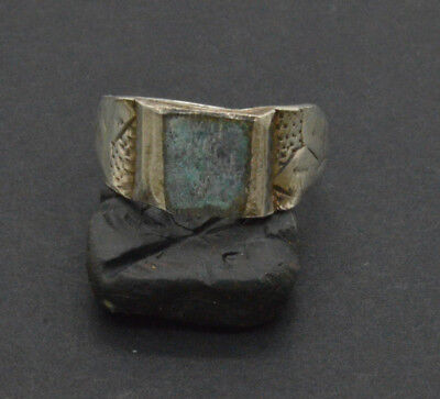 Post medieval period Silver ring. 18 Century. 4gr