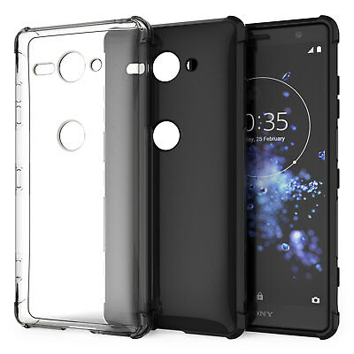 Coque Gel Silicone TPU Sony Xperia XZ2 Compact Etui Housse Protection Robuste