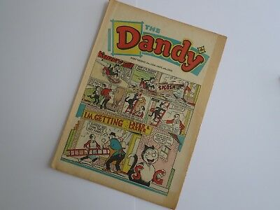 The DANDY Comic - No 1354 - 4th November 1967 - My Home Town Sheffield
