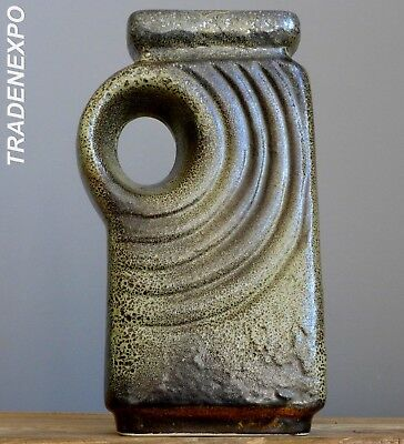 Vintage 60-70's WALTHER BECHT WB 159/24 Chimney Vase West German Fat Lava Era