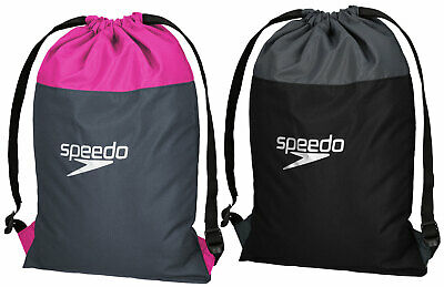 Speedo Unisex Pool Bag Swim Swimming Towel Wet Clothes Waterproof Backpack Gym
