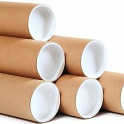 Jumbo Extra Thick Cardboard Postal Tubes 130mm x 455mm (A2)