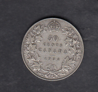 1932 Canada Silver 50 Cents