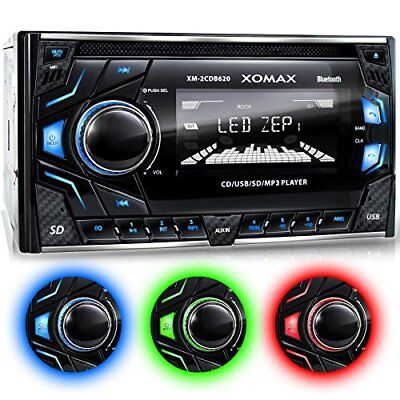 Xm-2cdb620 Car Stereo With Cd-player + Bluetooth Hands-free   Music Streaming +