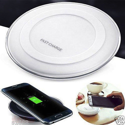 QI Wireless Fast Charger Charging Pad For Samsung Galaxy S6/S6 Edge+ /Note 5 Lot