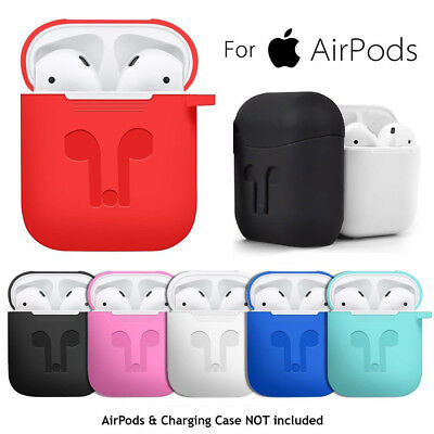 AirPods Silicone Case Cover Protective Skin for Apple Airpod Charging Case *