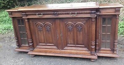 Beautiful French 19Thc Long Sideboard Great Cond With Keys From Brest Britanny