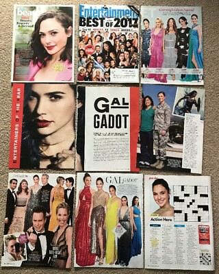 RARE Gal Gadot Posters & Articles! Wonder Woman