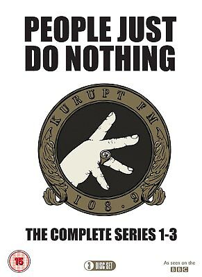 People Just Do Nothing - Complete Series 1 to 3: DVD - Steve Stamp