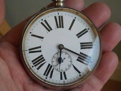 Superb Antique Goliath  Pocket Watch Working