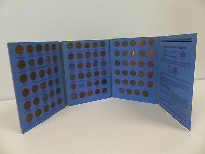 1941-59 Usa Lincoln Head Cent Collection Of 84 In Album