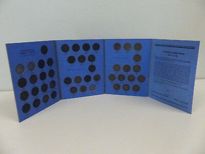 1876-1920 Canada Large Cent Collection Of 43 In Album