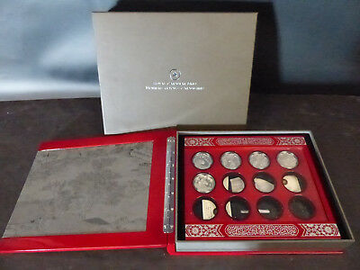 2010-2014 Canada Sterling Silver Lunar Coin Lot Of 5 & Case