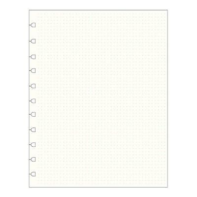 Filofax Notebook Refill - Dotted - Letter Size (10.875 x 8.5 inches) 112016 NEW