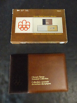 1976 Canada Montreal Olympic Stamp Souvenir Collection Vol.1
