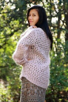 Lacy Mohair Sweater & Skirt