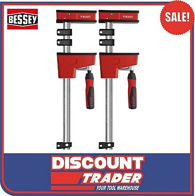 Bessey Quick Action Revolution Parallel Jaw Body Clamp KR 1000x95mm KRE100-2Kx2