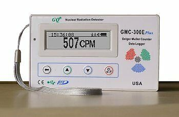Gmc-300e-plus Digital Geiger Counter Nulcear Radiation Detector Monitor Meter Do