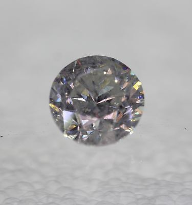 Certified 1.60 Carat F SI2 Round Brilliant Enhanced Natural Loose Diamond 7.12mm