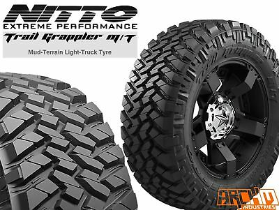 SET OF 4 NITTO TRAIL GRAPPLER 35 x 12.5 xR17 PREMIUM MUD TERRAIN TYRES BAYSWATER