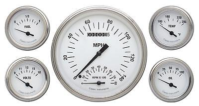 Classic Instruments White Hot Series Gauge Set WH65SLF