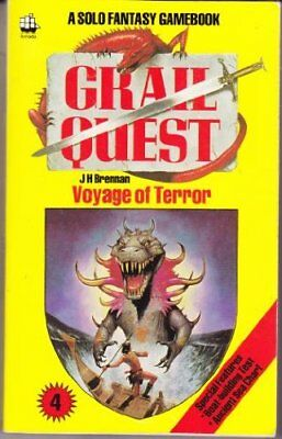 Grail Quest: Voyage of Terror Bk. 4 by Brennan, J.H. Paperback Book The Cheap