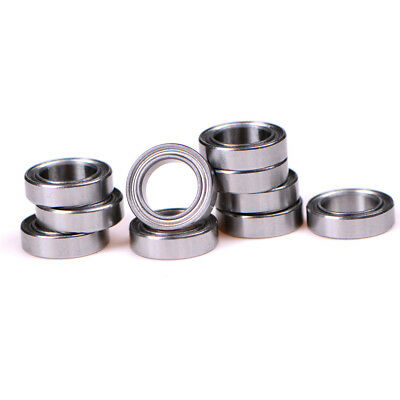 4Xchrome steel ball  MR117ZZ 7*11*3 7x11x3mm metal shield MR117Z ball bearing DS