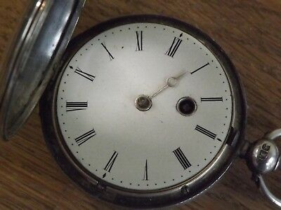 Stokesley Super Quality  Solid Silver  Antique Fusee Full Hunter Pocket Watch